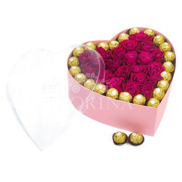 """Коробка цветов """"Be mine"""""""