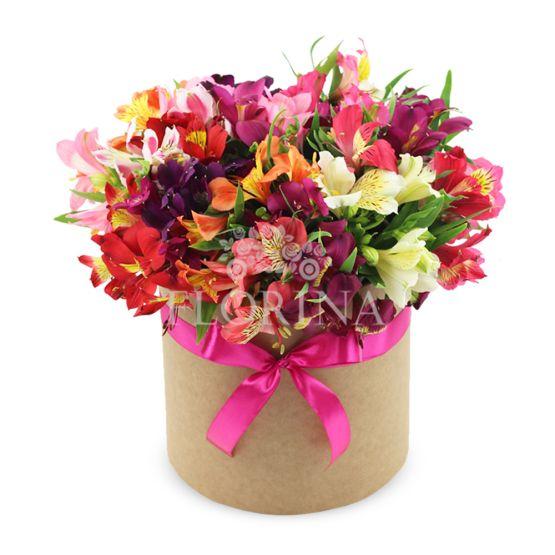 """Коробка цветов """"Берри"""""""