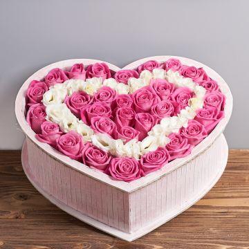 """Коробка цветов """"Суфле"""""""