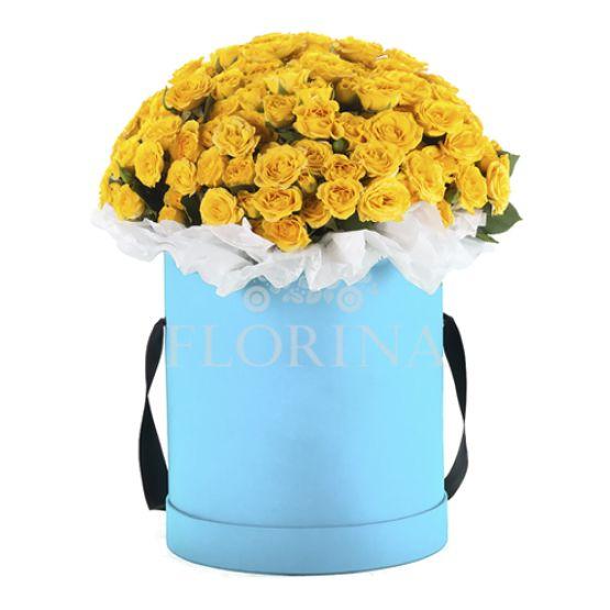 """Коробка цветов """"Виолла"""""""