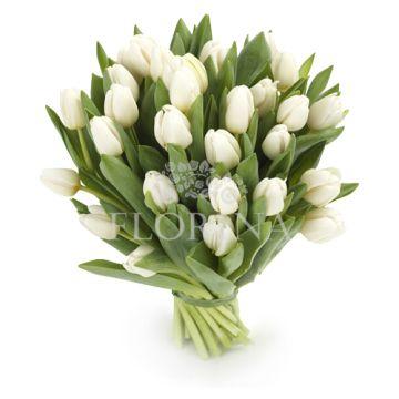 """Букет """"23 белых тюльпана"""""""