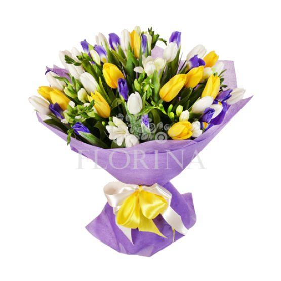 "Тюльпаны ""Оттенок весны"""