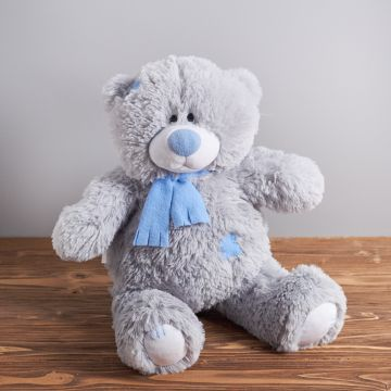 "Мишка серый ""Тедди"" 60 см."