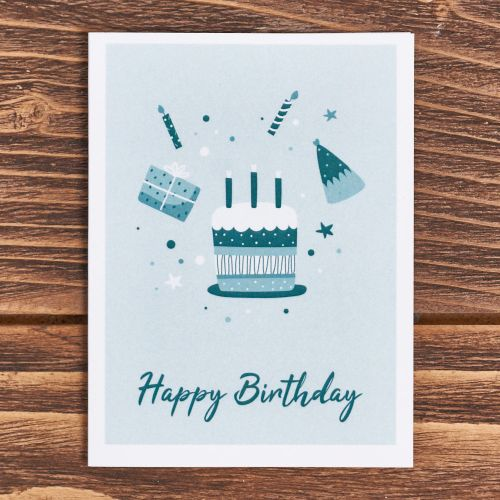 """Открытка """"Happy Birthday"""""""