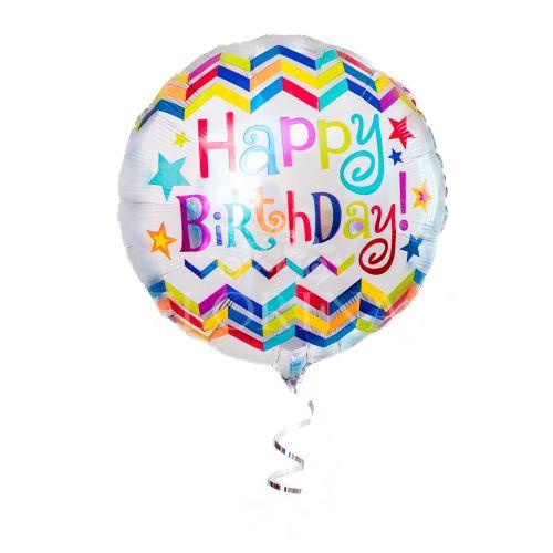 """Фольгированный шар """"Happy birthday"""""""