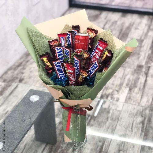 "Съедобный букет ""Snickers"""
