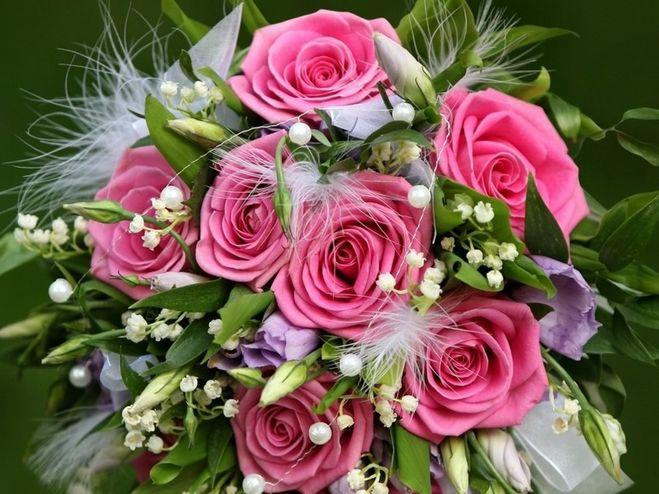 Цветы девушке на день рождения