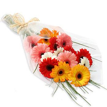 Букет цветов герберы