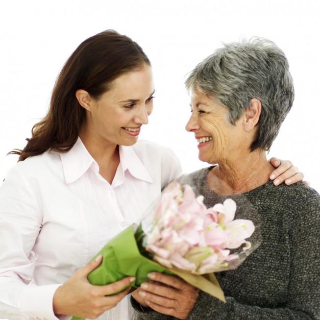 Цветы бабушке на день рождения
